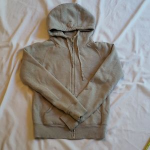 TNA full zip hoodie size small neutral colour